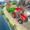 Tractor Trolley Drive Offroad Cargo: Tractor Games